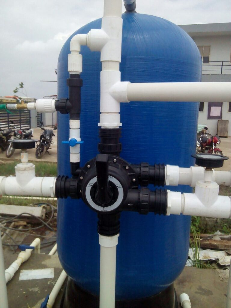 65 nb manual multiport valves softener